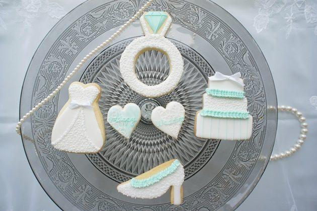 ウェディングアイシングクッキー